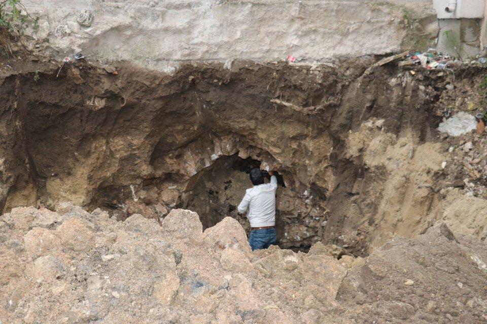 Apartmanın altında Osmanlı tüneli bulundu - Sayfa 2