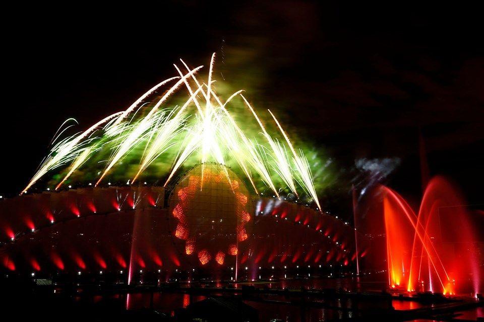 Moskova Işık Çemberi Festivali'ne görkemli açılış - Sayfa 1