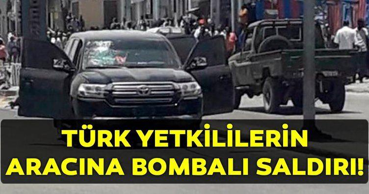 Türkiye Maarif Vakfı'na ait araca bombalı saldırı! - Sayfa 1