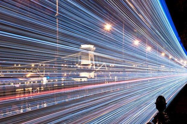 Led ile Süslenen Budapeşte Trenlerinin Uzun Pozlama Tekniği ile Çekilen Büyüleyici Fotoğrafları - Sayfa 2