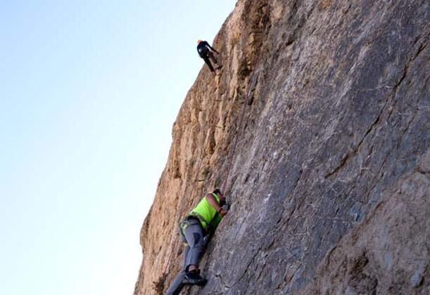 Hakkari dağlarında kaya tırmanışı - Sayfa 1