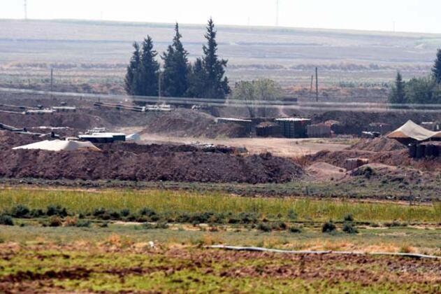 Sınırda namlular Suriye'ye çevrildi - Sayfa 1