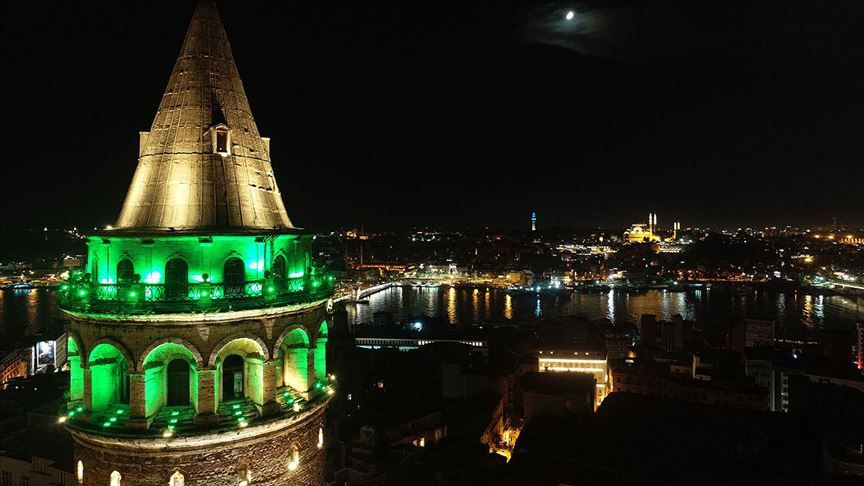 İstanbul yeşile büründü - Sayfa 1