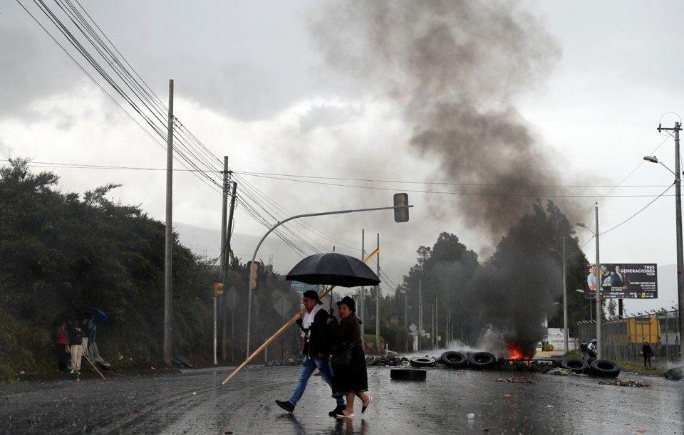Ekvador'da protestolar devam ediyor: 50 polis rehin. - Sayfa 3