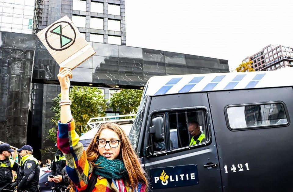 Hollanda'da 'iklim değişikliği'ne karşı işgal eylemleri: 40 gözaltı - Sayfa 2