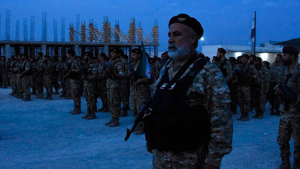 Suriye Milli Ordusu askerleri Şanlıurfa'da emir bekliyor