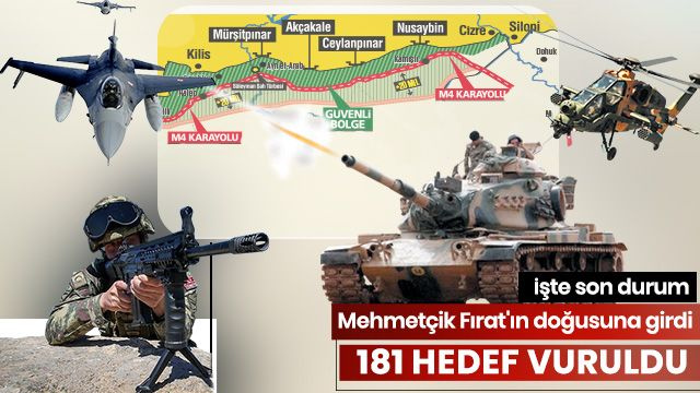 Fırat'ın doğusuna kara harekatı başladı - Sayfa 1