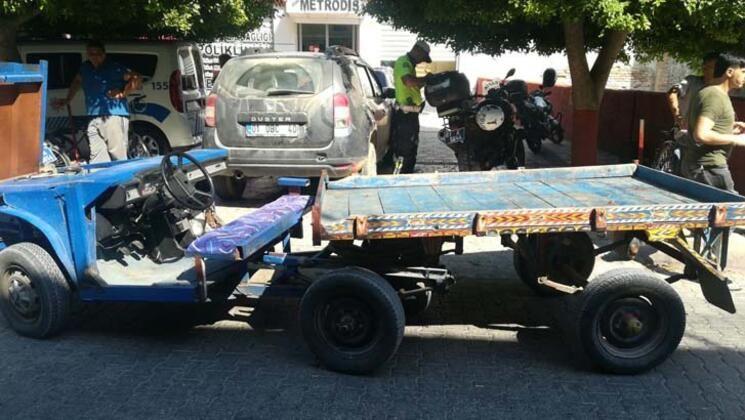 Polisleri de şaşırtan araç, trafikten men edildi - Sayfa 2