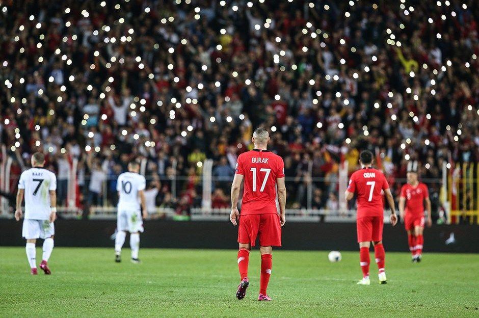 Türkiye -Arnavutluk maçından kareler - Sayfa 3