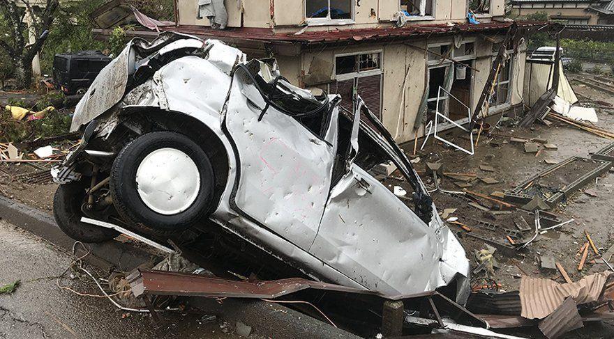Japonya'yı tayfun vurdu: 2 ölü - Sayfa 4
