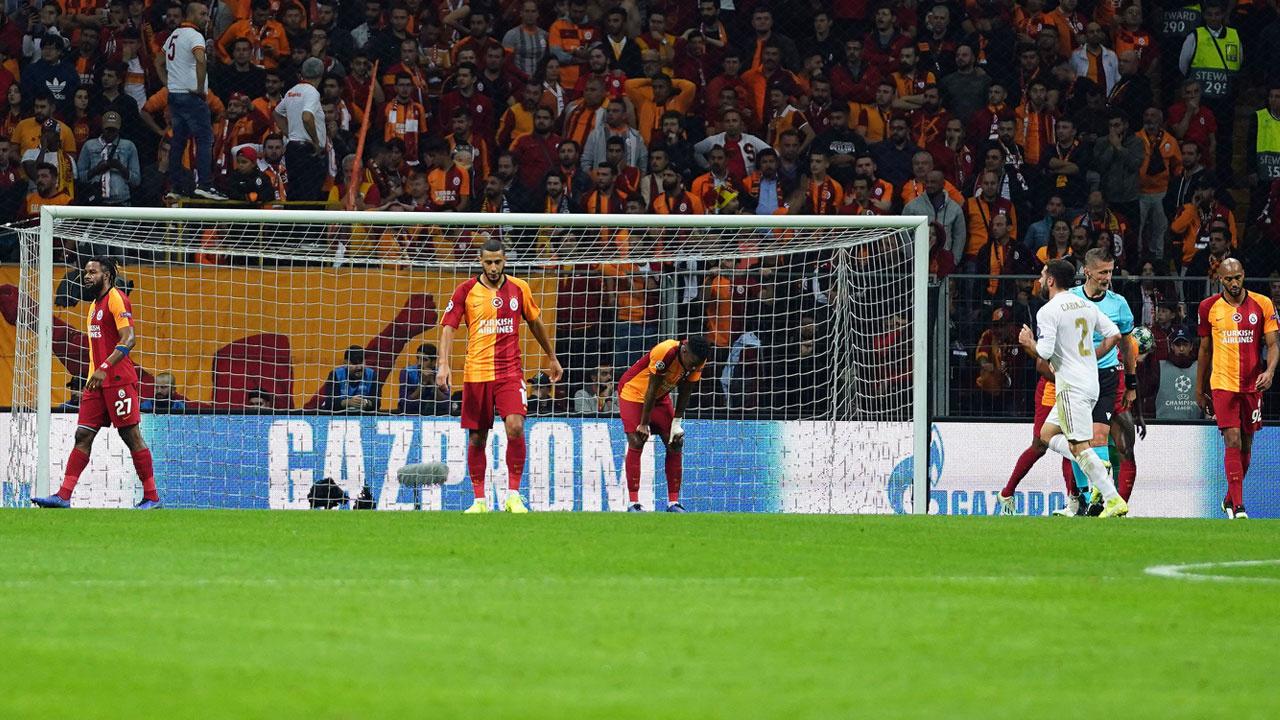 Galatasaray-Real Madrid maçından kareler