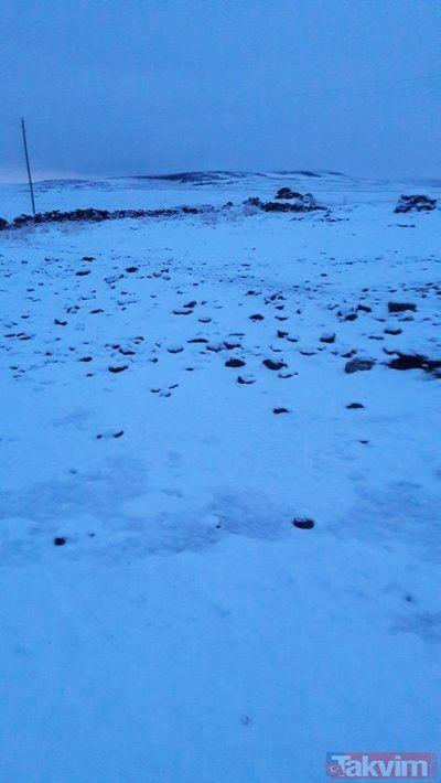 Kar erken düştü! 'Kış çok fena geçecek' - Sayfa 1