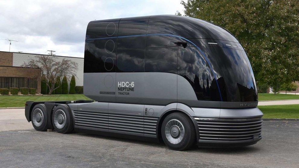 Hyundai'den Tesla Semi'ye rakip: HDC-6 Neptune Concept - Sayfa 1