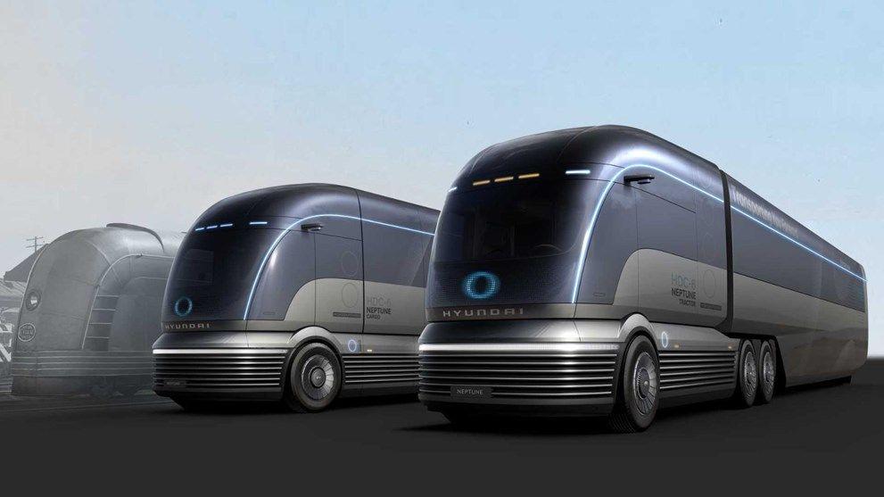 Hyundai'den Tesla Semi'ye rakip: HDC-6 Neptune Concept - Sayfa 2