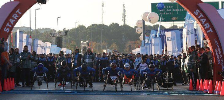 Vodafone İstanbul Maratonu'ndan renkli görüntüler... - Sayfa 1
