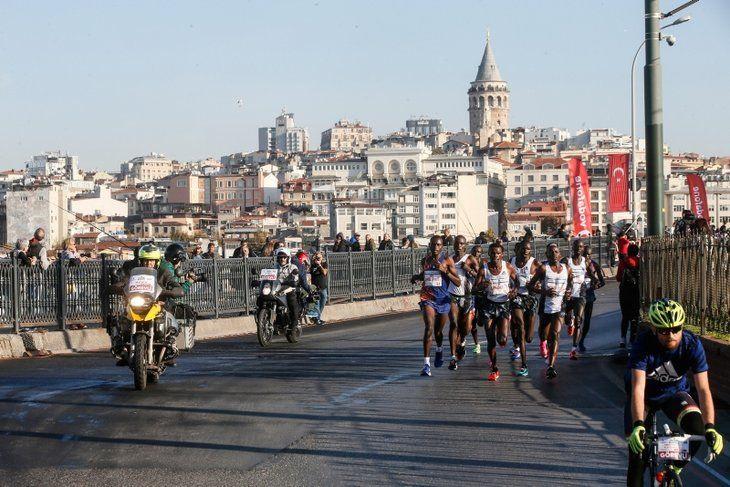 Vodafone İstanbul Maratonu'ndan renkli görüntüler... - Sayfa 4