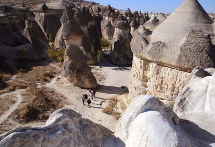 Kapadokya'ya turist akını - Sayfa 1