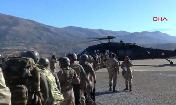 Terör örgütü PKK'ya yönelik 'Kıran-5' operasyonu başladı - Sayfa 1