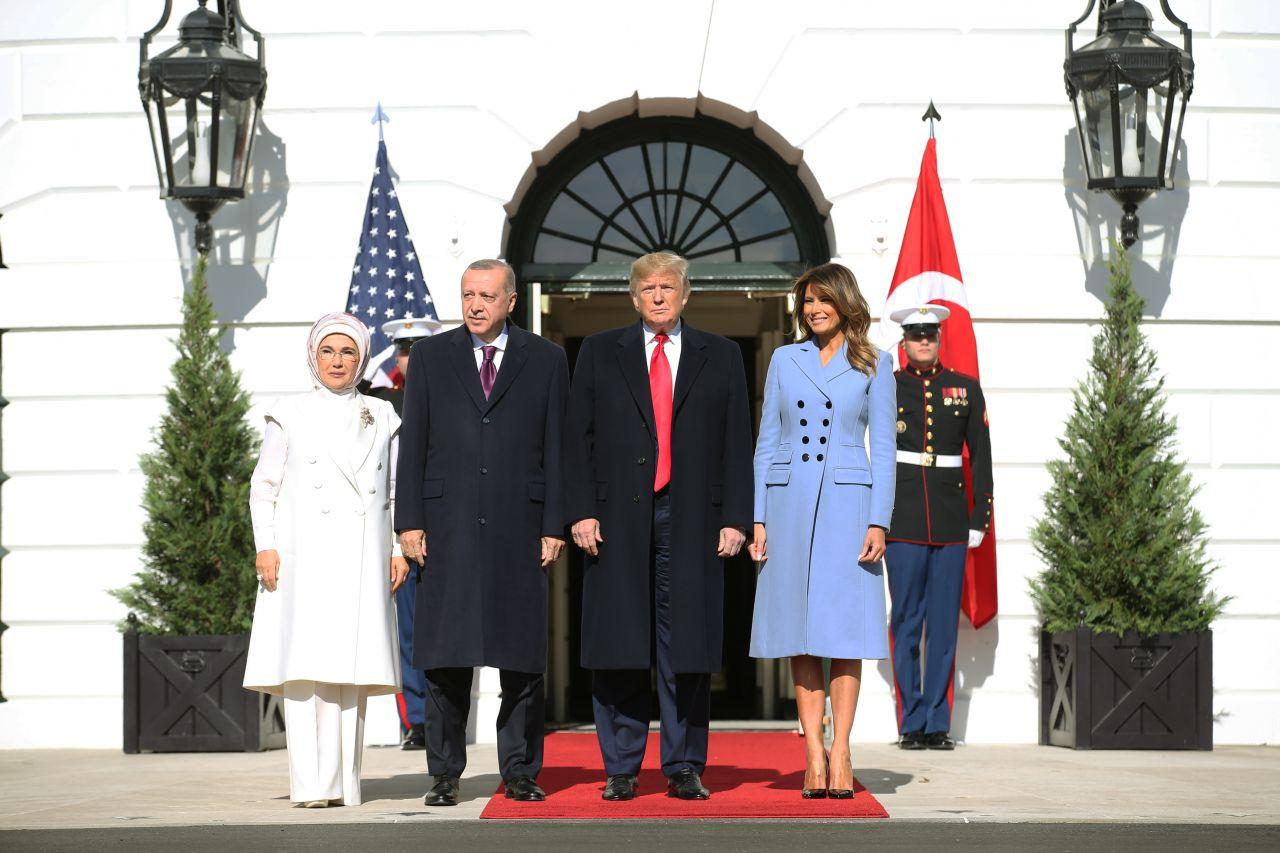 Cumhurbaşkanı Erdoğan Beyaz Saray'da - Sayfa 1