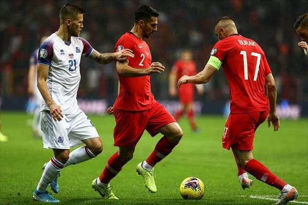 Türkiye-İzlanda maçından kareler - Sayfa 1