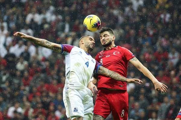 Türkiye-İzlanda maçından kareler - Sayfa 4