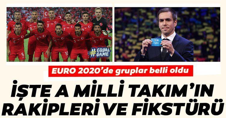 EURO 2020'de Türkiye'nin rakipleri belli oldu! İşte Türkiye'nin EURO 2020 grubu ve fikstürü - Sayfa 1