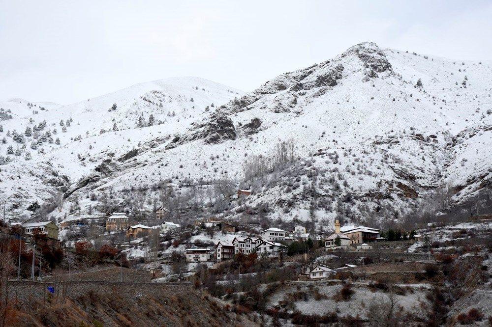 Türkiye'de beyaz örtü Doğu Anadolu'yu etkisi altına aldı - Sayfa 1