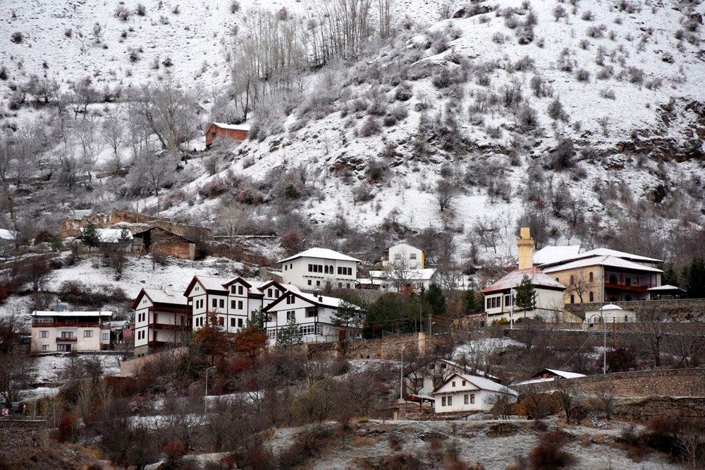 Türkiye'de beyaz örtü Doğu Anadolu'yu etkisi altına aldı - Sayfa 3