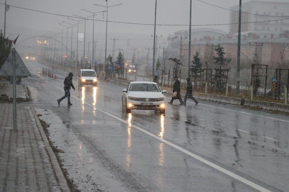 Türkiye'de beyaz örtü Doğu Anadolu'yu etkisi altına aldı - Sayfa 4