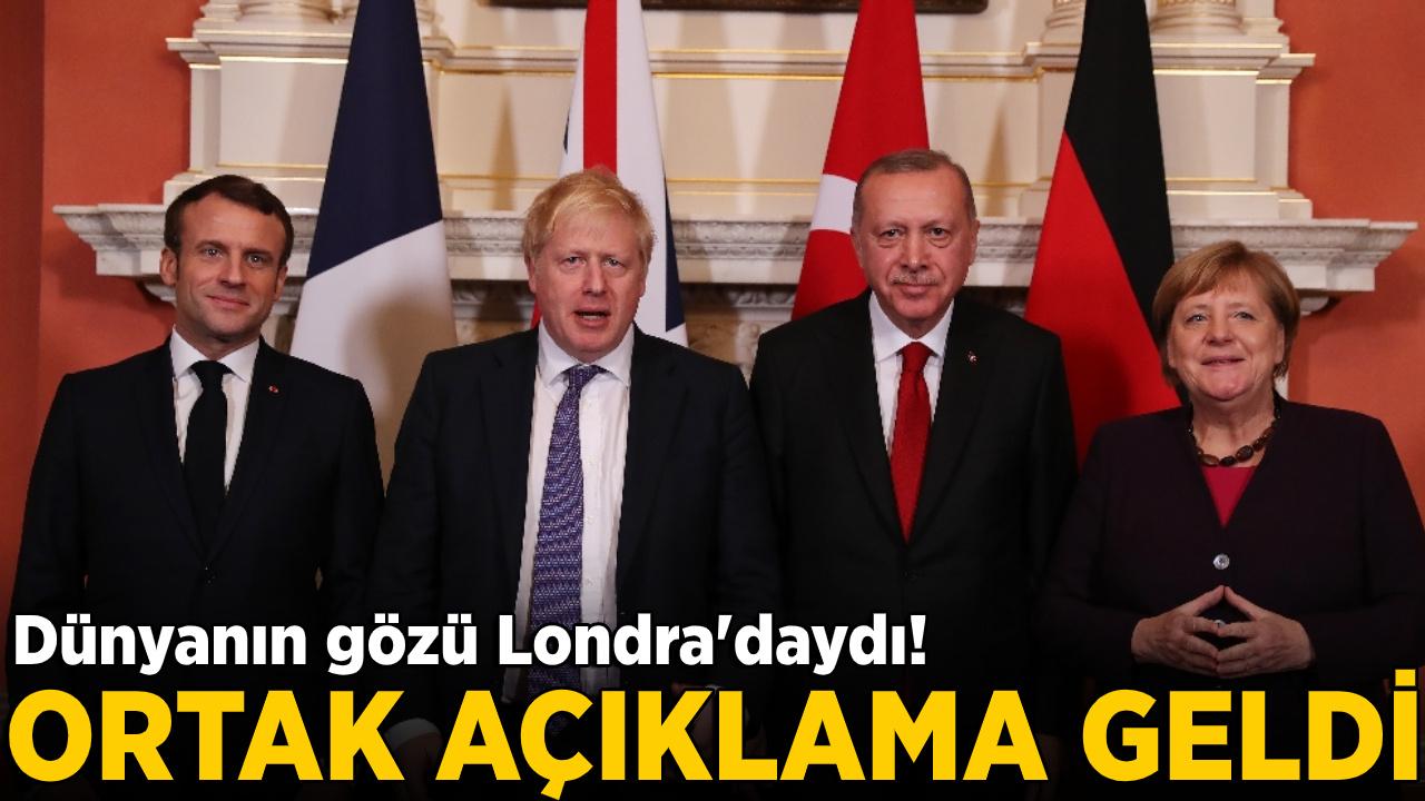 Dörtlü Suriye Zirvesi sonrası ortak açıklama!