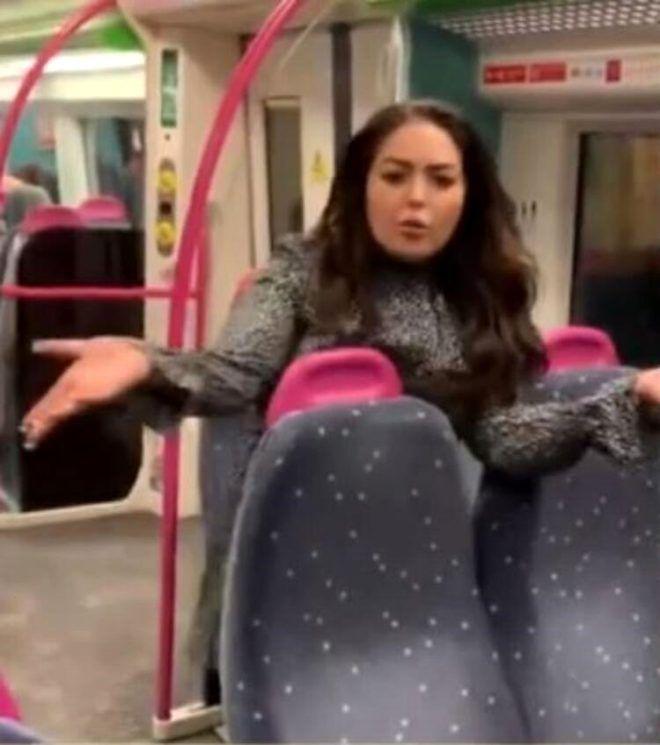 Trende gergin anlar! Sarhoş kadın, erkek yolculara tokat atıp taciz etti - Sayfa 2