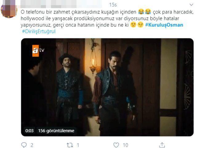 Kuruluş Osman'da skandal cep telefonu hatası Burak Özçivit'in üzerinde unutuldu - Sayfa 4