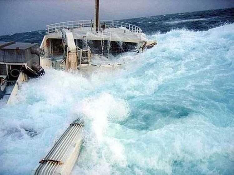 Dev dalgalarla ölümcül mücadele - Sayfa 4