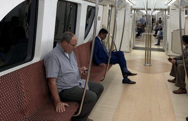Metroları bile otel konforluğunda! İşte Katar'ın 'Zenginliğin böylesi' dedirten metrosu - Sayfa 2