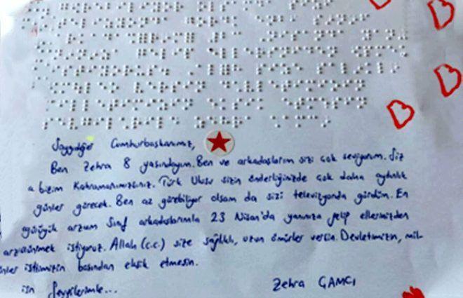 Bu mutluluk görülmeye değer! Cumhurbaşkanı Erdoğan'a engelli öğrencilerden özel hediye - Sayfa 2