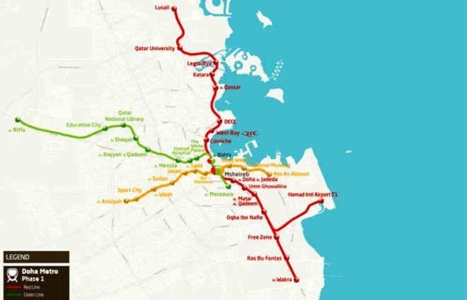 Metroları bile otel konforluğunda! İşte Katar'ın 'Zenginliğin böylesi' dedirten metrosu - Sayfa 3