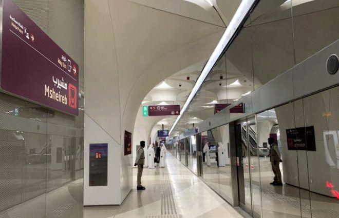 Metroları bile otel konforluğunda! İşte Katar'ın 'Zenginliğin böylesi' dedirten metrosu - Sayfa 4