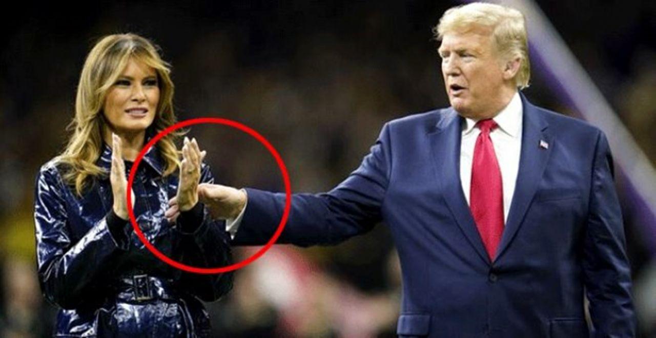 Melania Trump yine yaptı yapacağını Binlerce kişi canlı yayında izledi - Sayfa 1