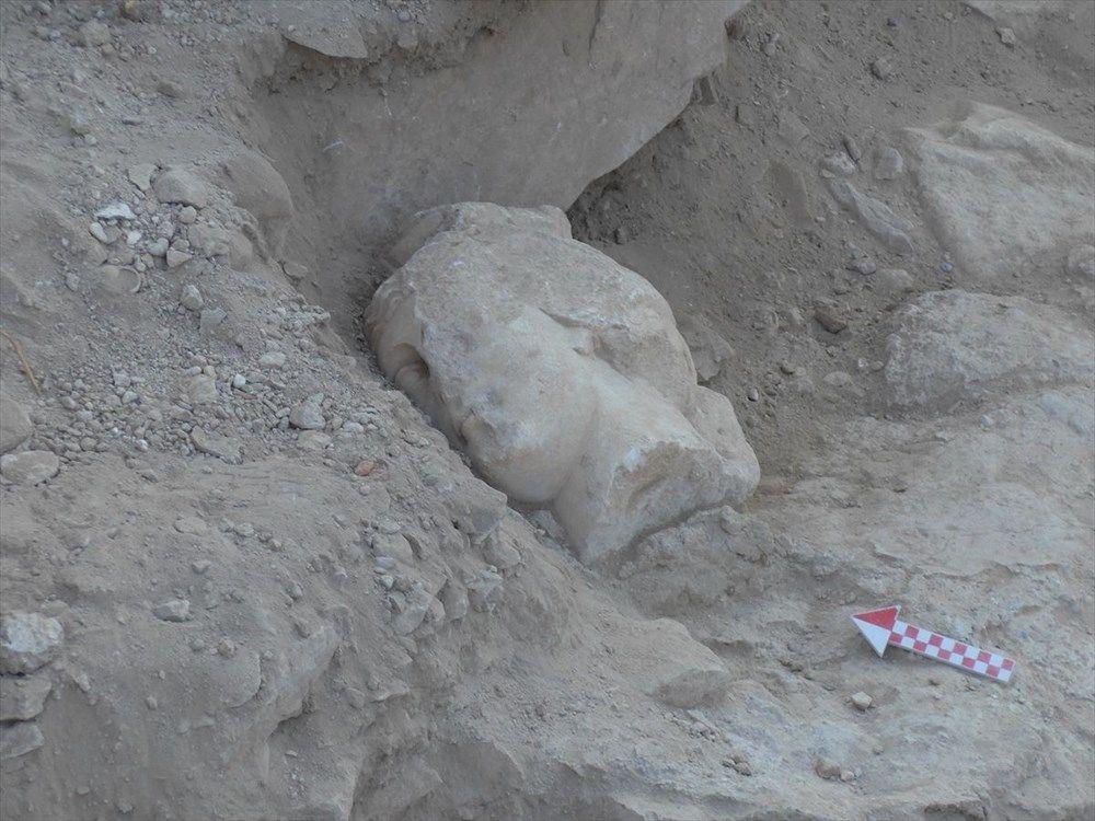 Denizli'de Roma İmparatoru Nero'nun heykeline ait mermer baş bulundu - Sayfa 1