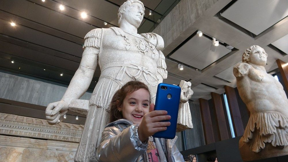Müzede Selfie Günü böyle kutlandı - Sayfa 2