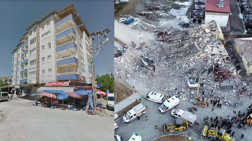 Elazığ'da 6 katlı 2 bloklu binanın çökmeden önceki fotoğrafları - Sayfa 1