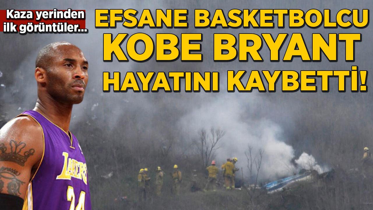 Kobe Bryant helikopter kazasında hayatını kaybetti!