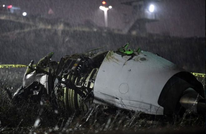Pistten çıkıp 3 parçaya bölünen uçak kazasından arda kalanlar - Sayfa 2