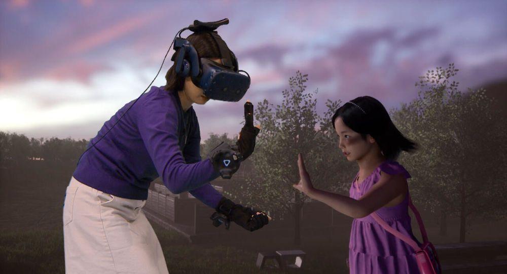 Ölen kızının 'sanal gerçeklik'teki görüntüsüyle konuştu - Sayfa 2