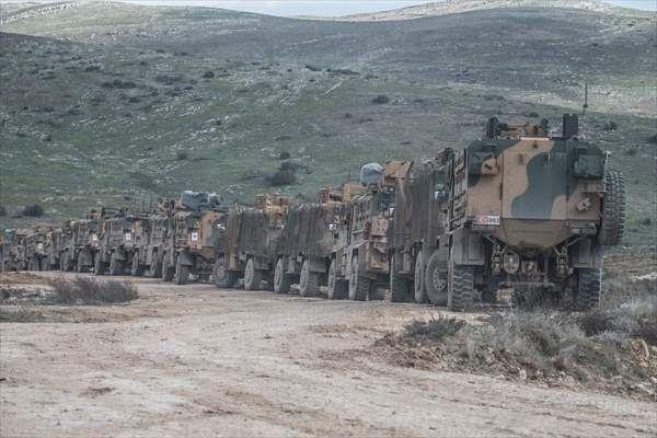 Hatay sınırında askeri hareketlilik! Dev kobvoy - Sayfa 4