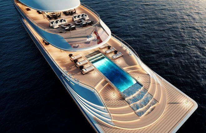 Helikopter pisti, havuz ne ararsan var! İşte ünlü iş adamı Bill Gates'in 645 milyon dolarlık çevre dostu yatı - Sayfa 1