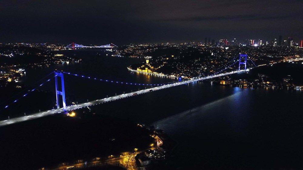İstanbul'un simgeleri mor renge büründü (Dünya Epilepsi Günü) - Sayfa 2