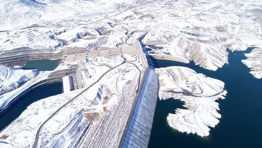 Ilısu Barajı'nda kar güzelliği - Sayfa 4