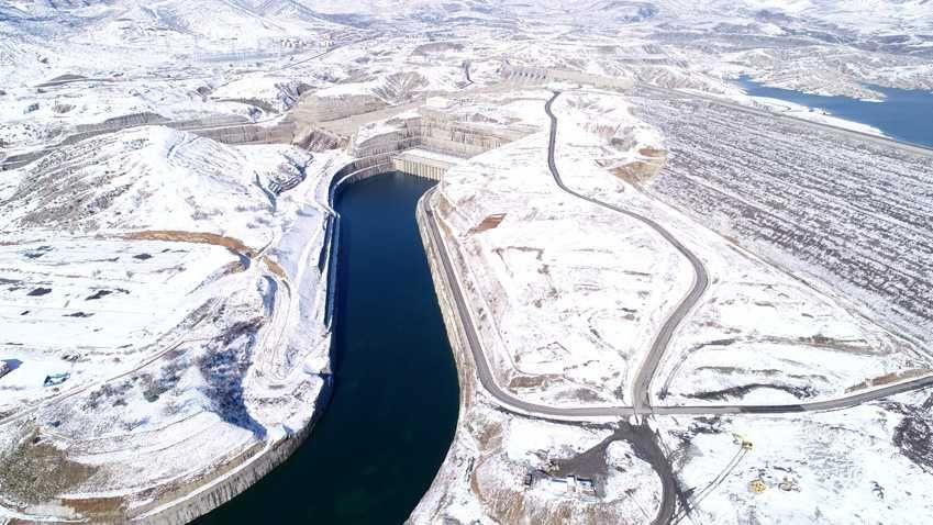 Ilısu Barajı'nda kar güzelliği - Sayfa 3