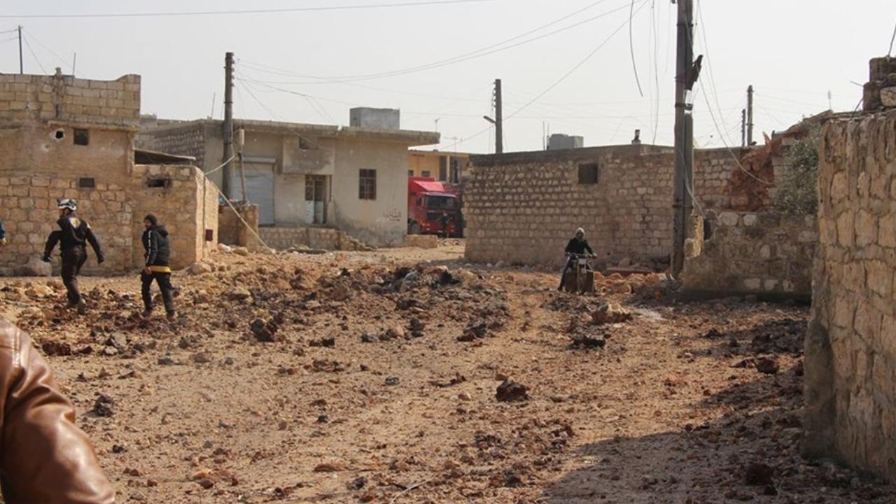 Esed rejimi yine sivilleri vurdu: İkisi çocuk üç ölü, üç yaralı